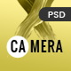 Camera - Photography, Photo Gallery & Portfolio PSD Template