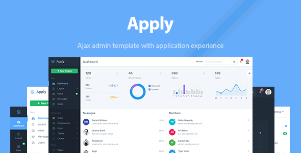 Apply - Web Application & Admin Template Free Download | Nulled