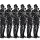 Squad of futuristic nazi soldiers - PhotoDune Item for Sale