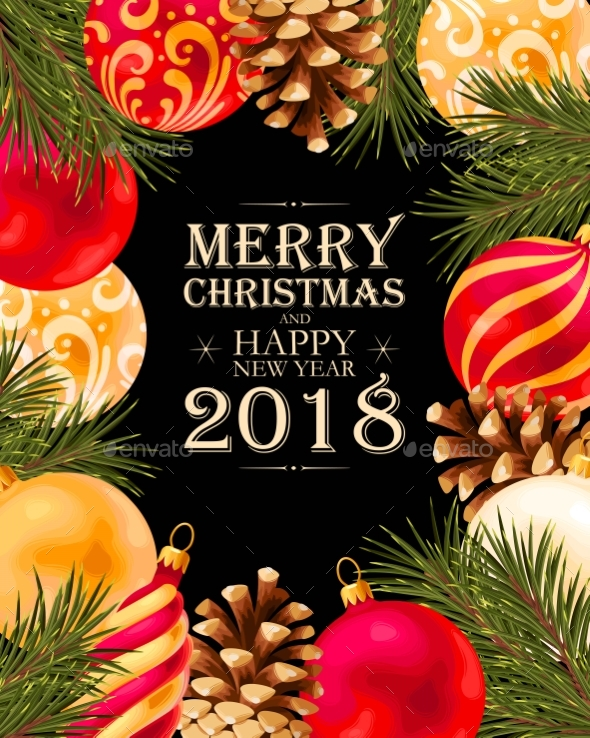 GraphicRiver Merry Christmas Greeting Postcard 21072639
