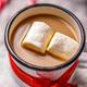 Enamel mug with hot chocolate - PhotoDune Item for Sale