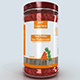 3d jar model for vegetables pickle paste or peanut butter etc