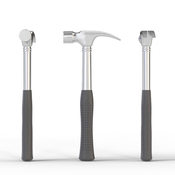 3DOcean Claw Hammer 21073339