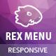 Rex Menu - Responsive jQuery Mega Menu