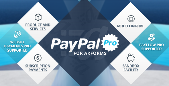 Paypal Pro for Arforms - CodeCanyon Item for Sale