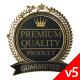 3D Animated Product Quality Guarantee Symbol V5 - VideoHive Item for Sale