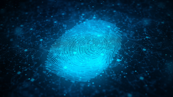 VideoHive Digital Fingerprint Artificial Intelligence Network Connection 21073866