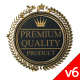 3D Animated Product Quality Guarantee Symbol V6 - VideoHive Item for Sale