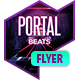 Club Flyer - Portal Beats - GraphicRiver Item for Sale