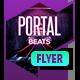 Club Flyer - Portal Beats