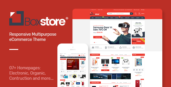 BoxStore - Multipurpose Magento Theme - Health & Beauty Magento