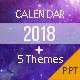 Calendar 2018 - Presentation Template - GraphicRiver Item for Sale
