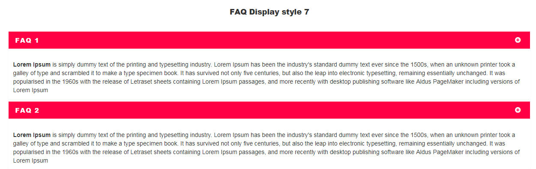 Visual Composer FAQ  element Add on - 7