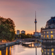 Beautiful sunrise at the Museum Island in Berlin - PhotoDune Item for Sale