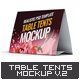 Table Tents Mock-Up V.2 - GraphicRiver Item for Sale