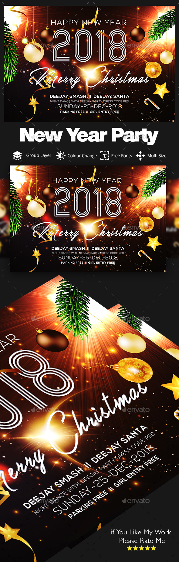 2018 New Years Eve Party - Clubs & Parties Events