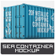 Shipping Container Mock-Up - GraphicRiver Item for Sale