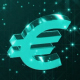 Euro Signs with Particles - VideoHive Item for Sale