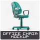 Office Chair Mock-Up - GraphicRiver Item for Sale