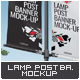 Lamp Post Banner Mock-Up - GraphicRiver Item for Sale