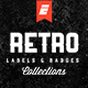 Retro Label and Badge Collections - GraphicRiver Item for Sale