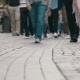 Crowd, People Walking on the Street - VideoHive Item for Sale