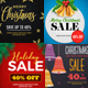 Christmas Instagram Banners - GraphicRiver Item for Sale