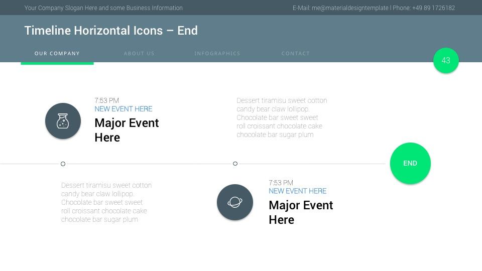 Material Google Slides Presentation Template