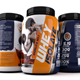 Whey protein Label Template Vol-02