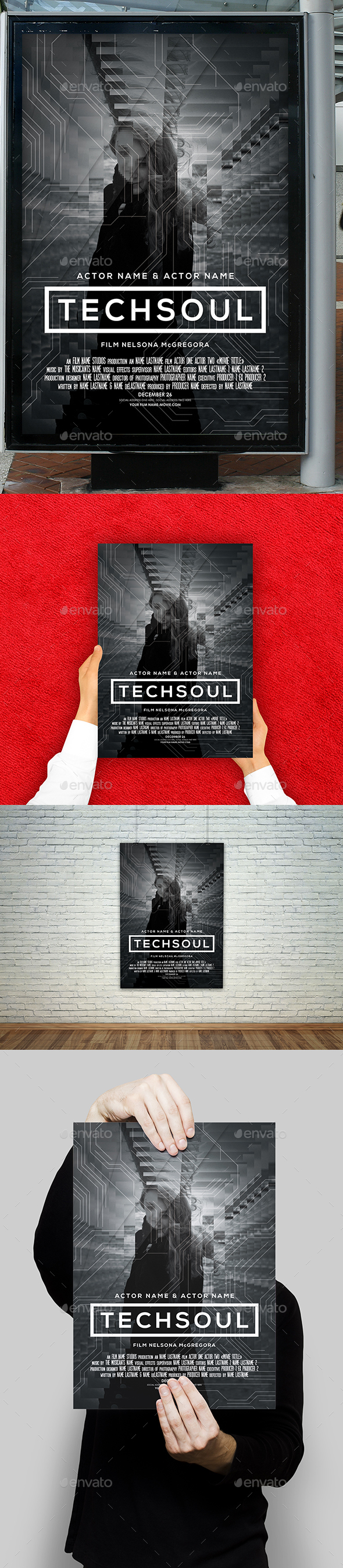 Tech Soul Film Movie Poster - Miscellaneous Events