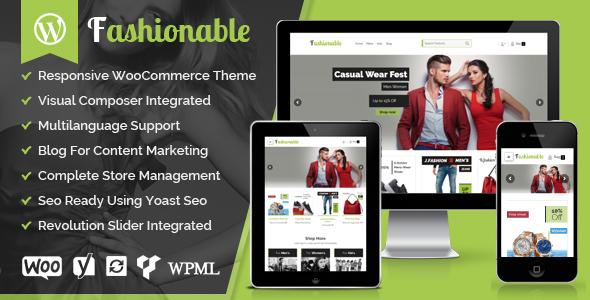 Fashionable - Creative Fashion WooCommerce WordPress Theme