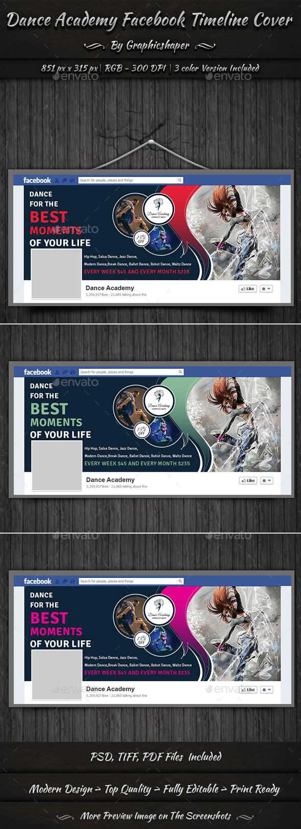 Dance Academy Facebook Timeline Cover - Facebook Timeline Covers Social Media