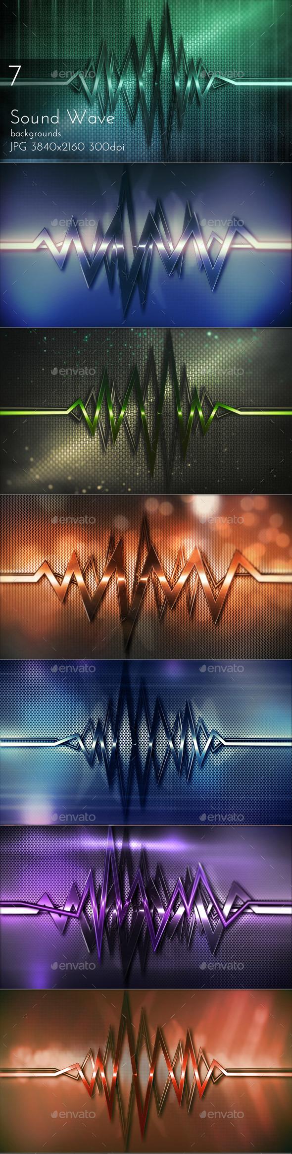 Sound Wave - Tech / Futuristic Backgrounds