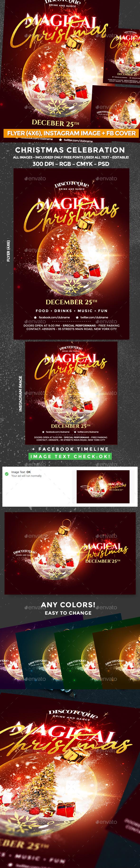 GraphicRiver Christmas Flyer 21075481