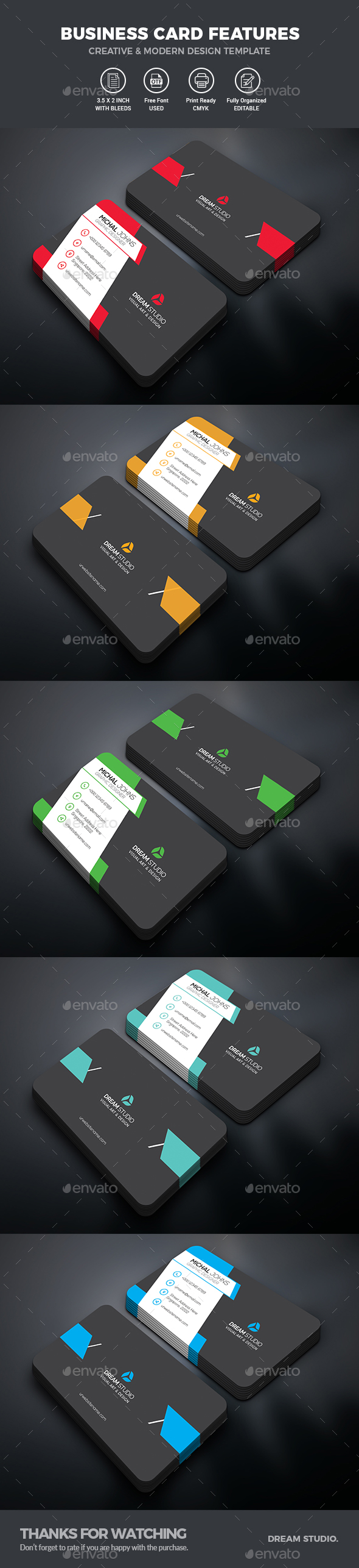 GraphicRiver Business Card 21075486