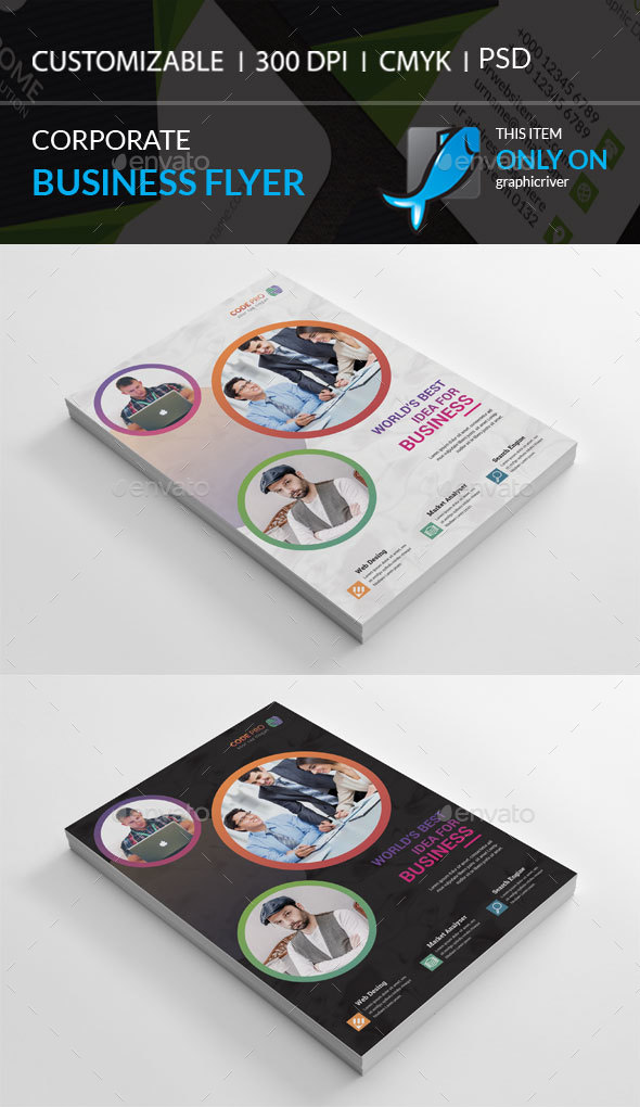 GraphicRiver Corporate Flyer 21075645