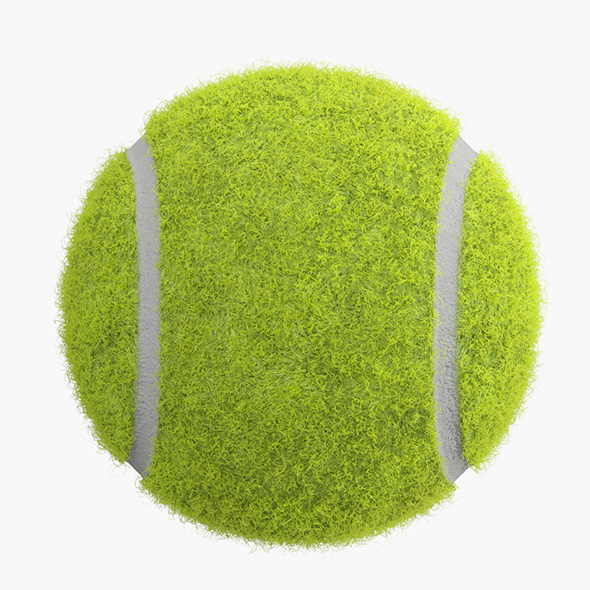Tennis Ball - 3DOcean Item for Sale