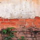 Cracked concrete vintage brick wall - PhotoDune Item for Sale