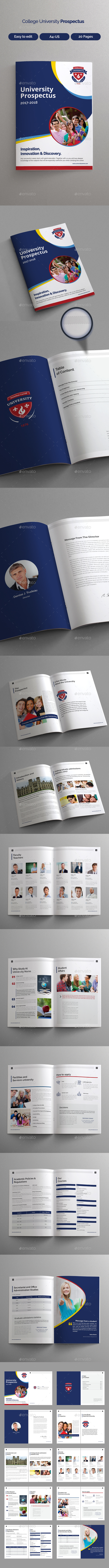 GraphicRiver College University Prospectus 21076041