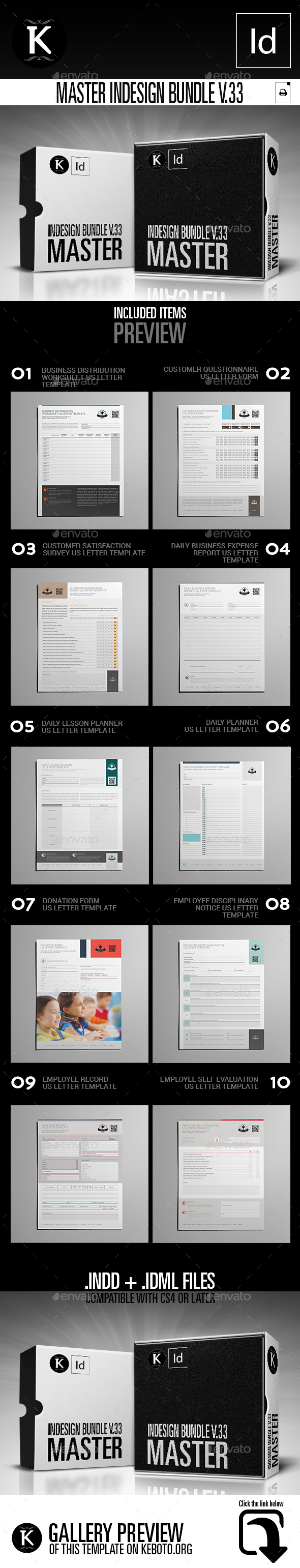 GraphicRiver Master inDesign Bundle v.33 21076081