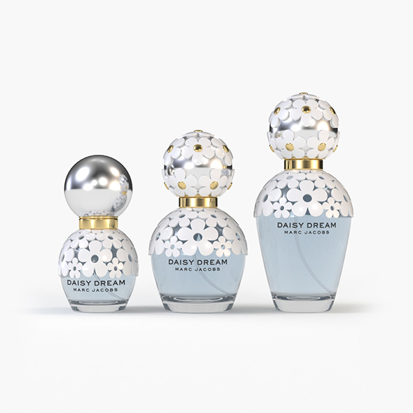 Perfume Daisy Dream - 3DOcean Item for Sale