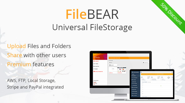 FileBear- Premium File Sharing - CodeCanyon Item for Sale