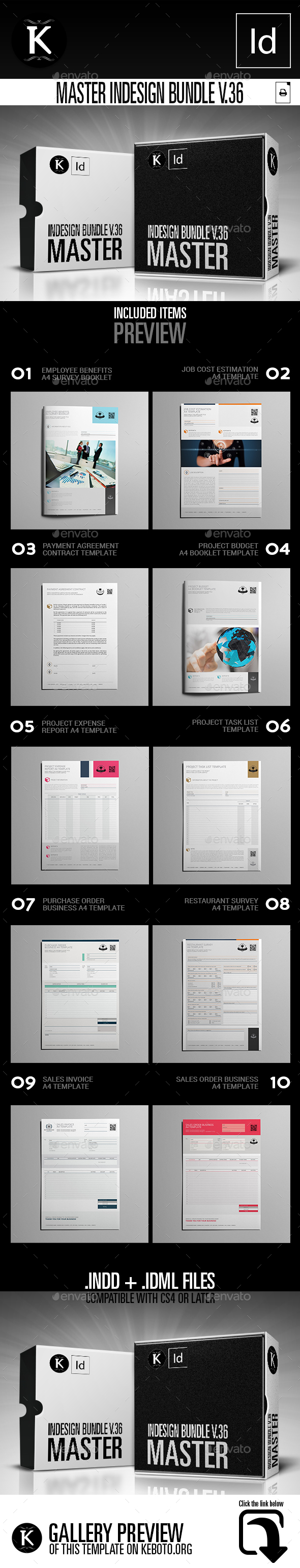 GraphicRiver Master inDesign Bundle v.36 21076897