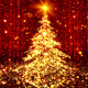Particle Christmas tree