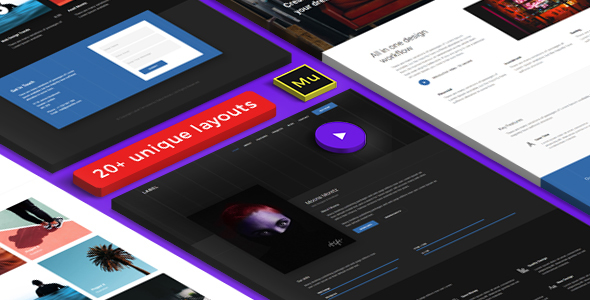 ThemeForest Label Multipurpose & Creative Adobe Muse template 21076931