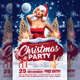 Christmas Party Flyer Template v1