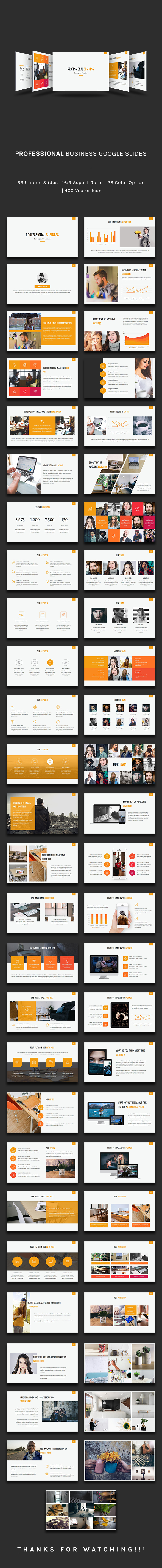 GraphicRiver Professional Business Google Slides 21077086