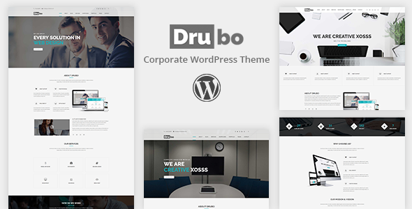 ThemeForest Drubo Corporate WordPress Theme 20860232