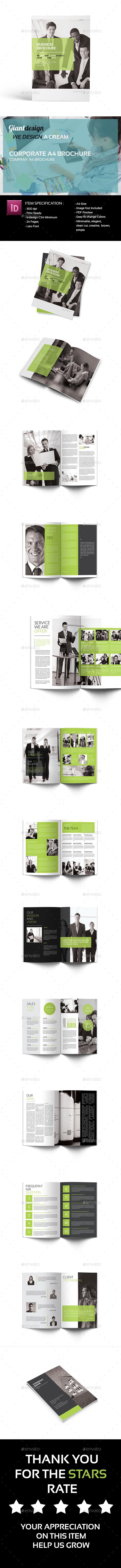 Corporate A4 Brochure - Corporate Brochures