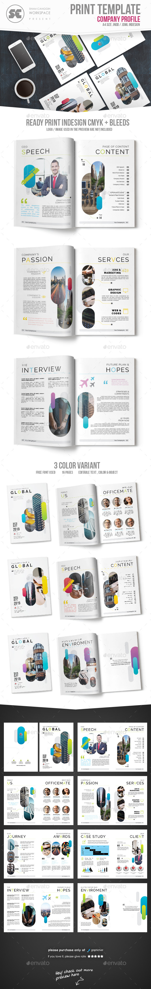 GraphicRiver Company Profile 21077248